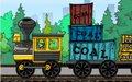 装卸运煤火车
