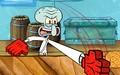 章鱼哥铁砂掌