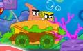 海绵宝宝驾驶汉堡车