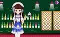 可爱的女仆装扮